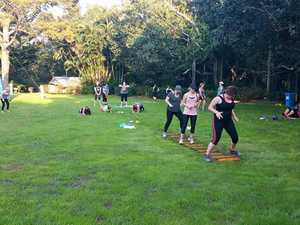 Free group fitness camps return to Rocky