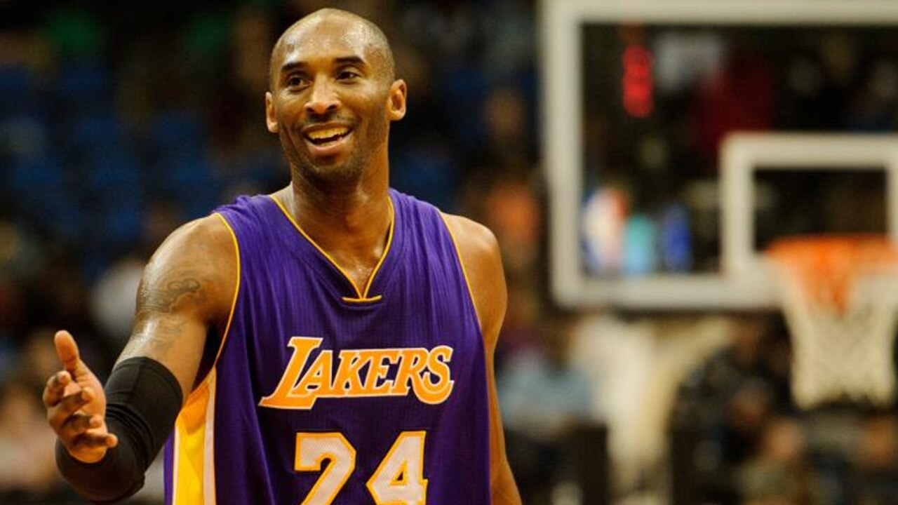 The NBL will honour Kobe Bryant with 24 seconds of applause before every game this weekend. Picture: Getty Images