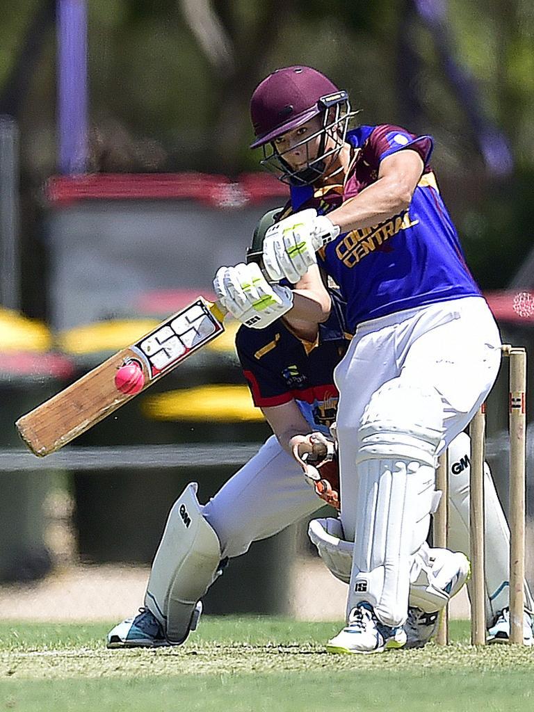 Ruby Strange. North Queensland Open Age Women's Cricket Championships at Riverway Stadium. Northern vs Central. PICTURE: MATT TAYLOR.
