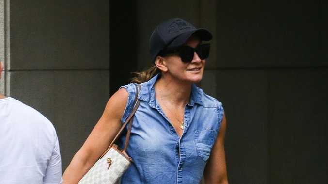 Michelle Bridges out and about after DUI charge