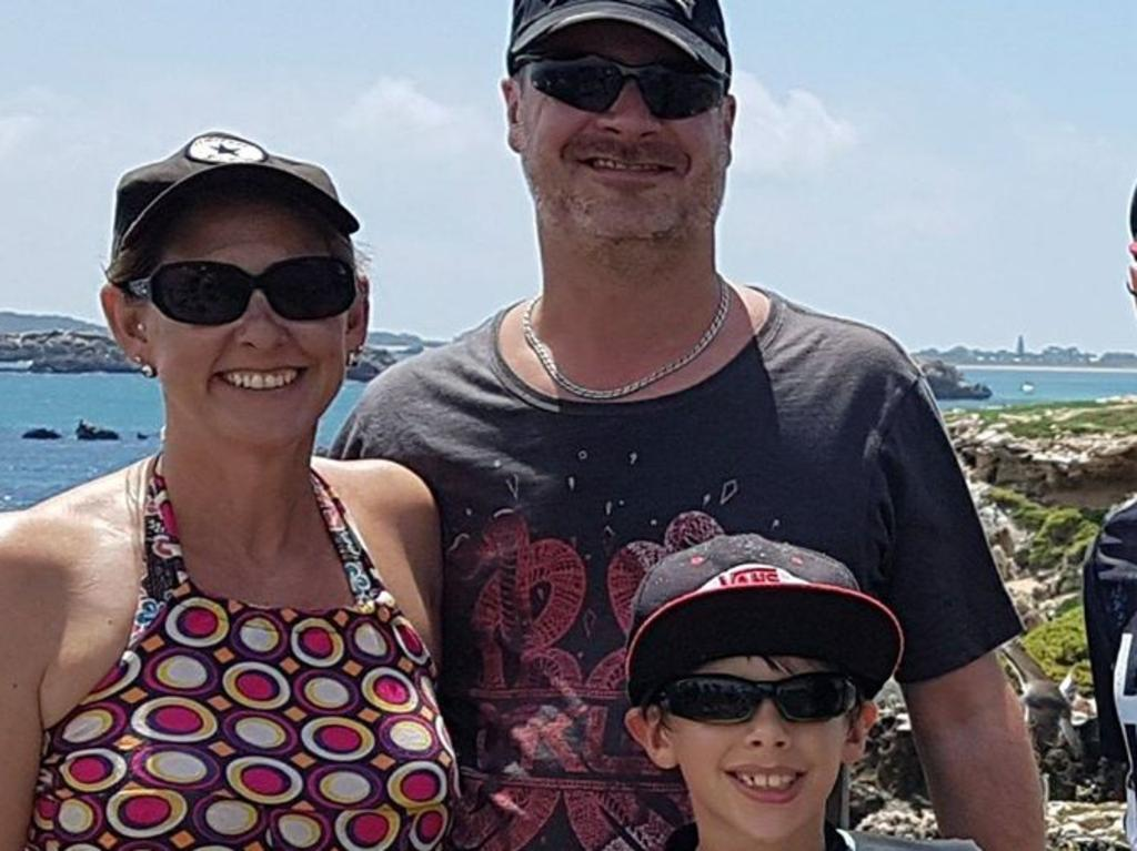 Family that was killed in camping accident.