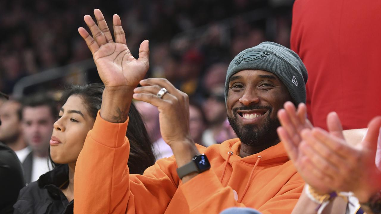 Vale Kobe Bryant. Picture: AP /Michael Owen Baker.