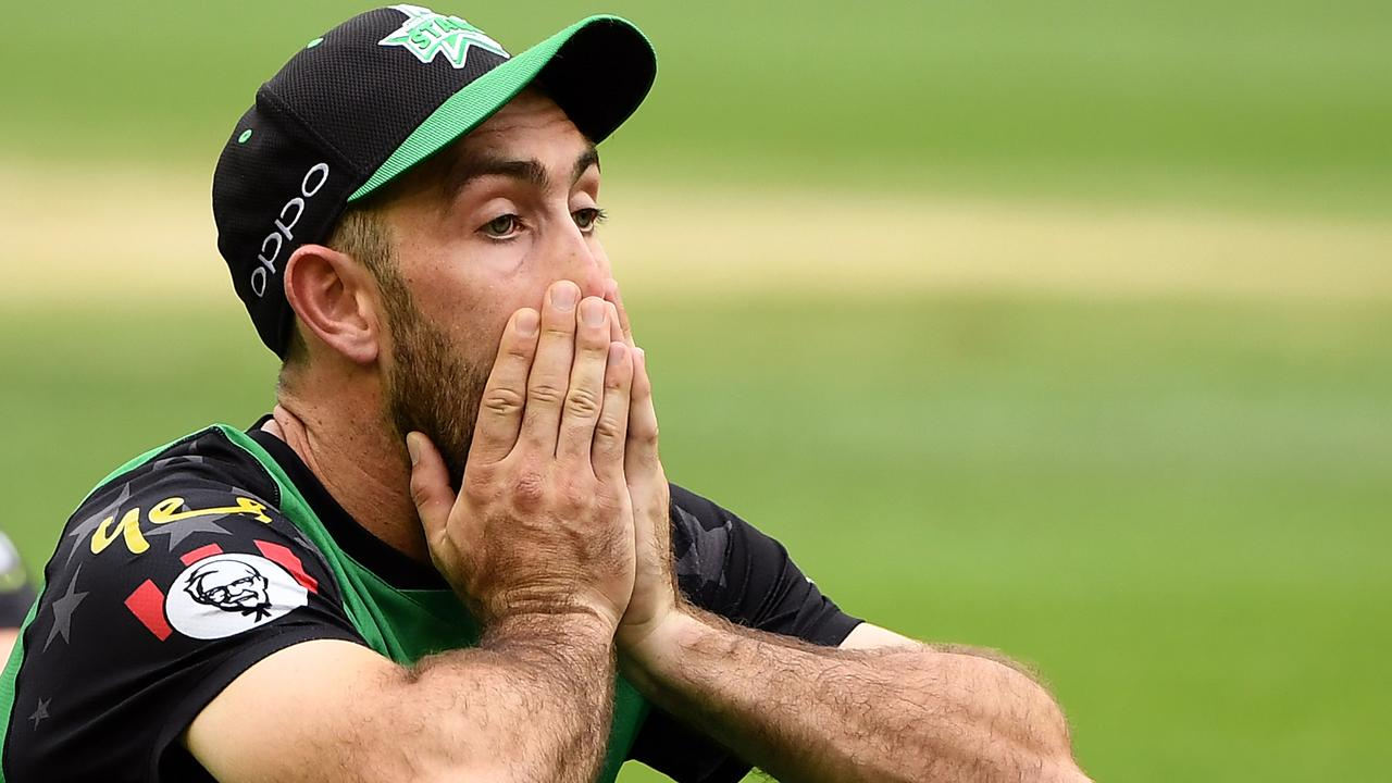 Glenn Maxwell sums up the Stars' finals form. Photo: Quinn Rooney/Getty Images