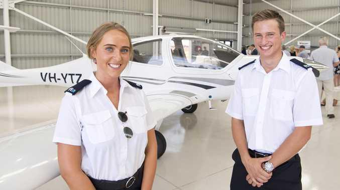 Qantas students celebrate opening of new school