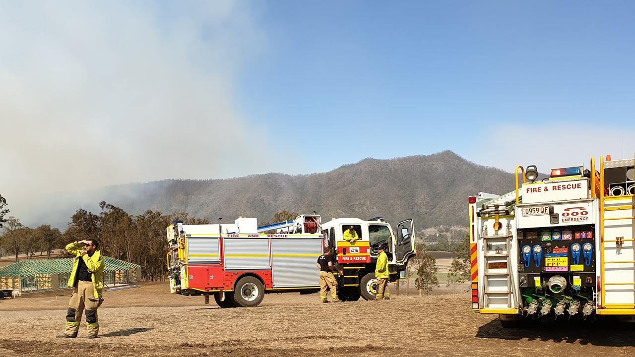 RELIEF: Recent rain has reduced the fire threat and possibly ended the danger from the Glen Rock National Park fire, but firefighters are warning new growth could pose a fuel hazard. Picture: Craig McIntyre