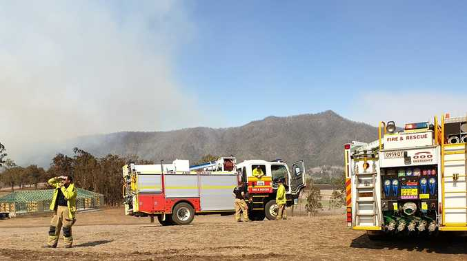 Rain brings both relief and new threats for fireys