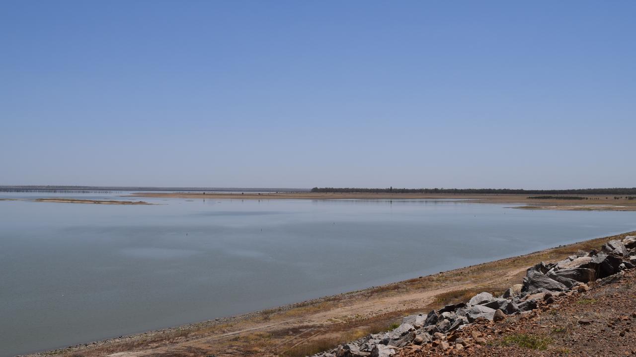 Fairbairn Dam.