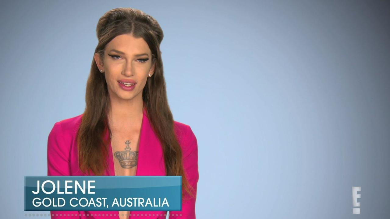 Jolene Dawson, a Gold Coast transgender woman, featured on an episode of Botched on Foxtel's E! channel in December