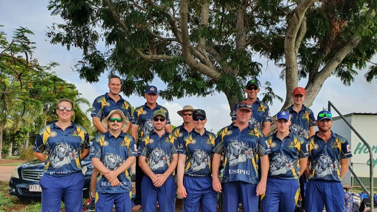 TEAM PHOTO: The Burnett Bushpigs finished runners up at the southern hemisphere's largest amateur cricket carnival. (Picture: Contributed)