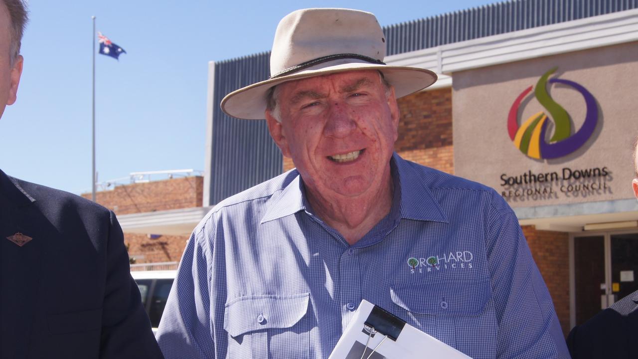 Agronomist Stephen Tancred.