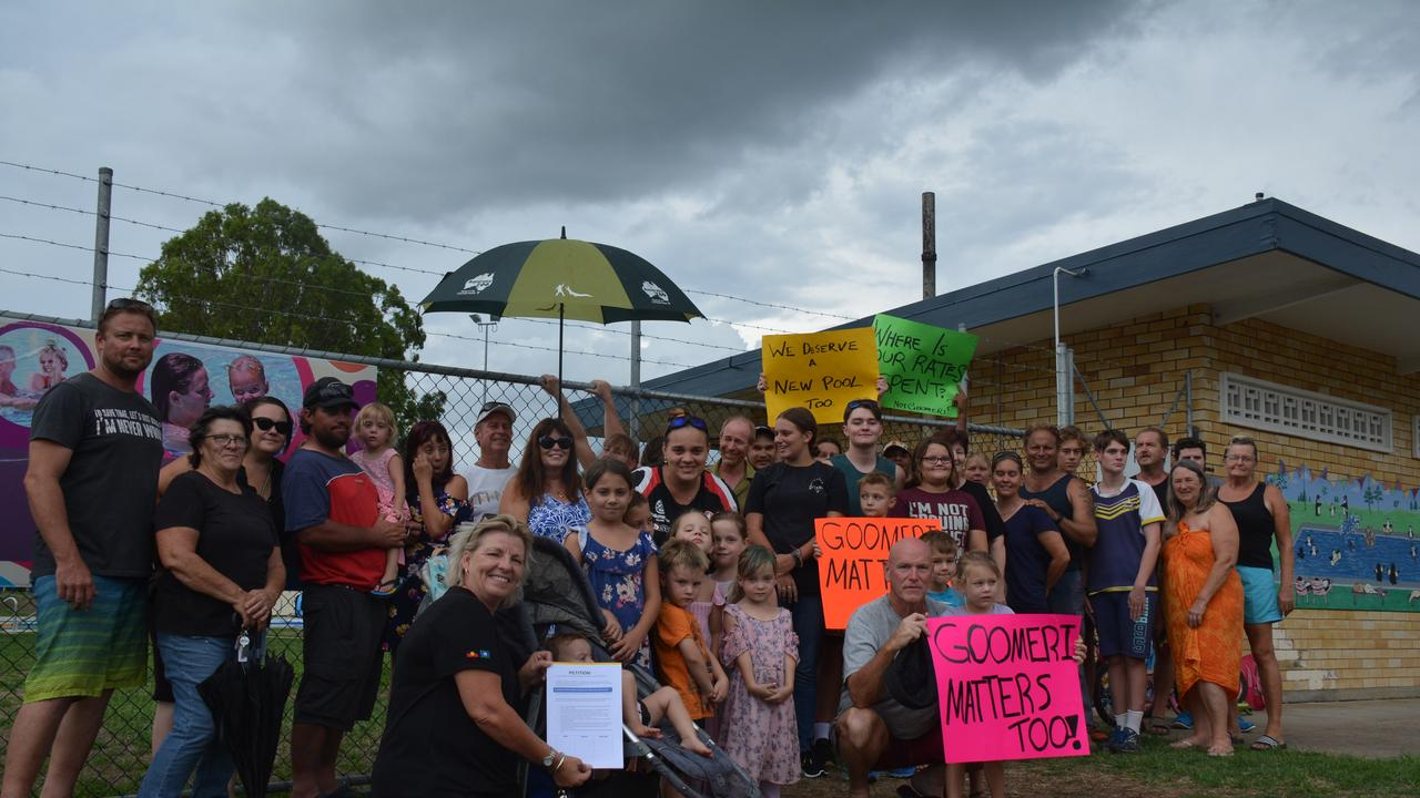 COOL DOWN: Goomeri residents have started a petition to fix their local pool. (Photo: Jessica McGrath)