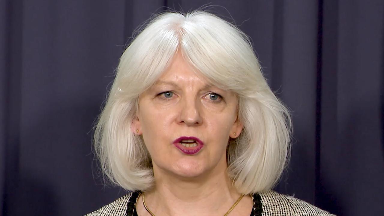 Prime Minster Scott Morrison's Suicide Prevention Adviser Christine Morgan. Picture: AAP