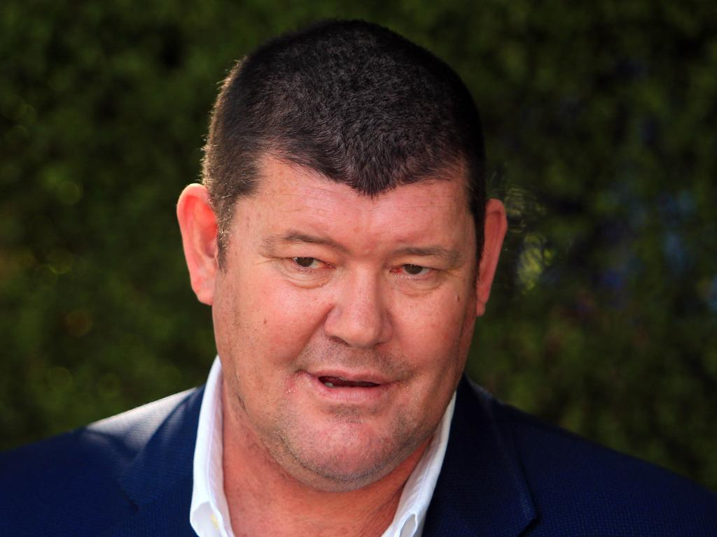 Billionaire businessman James Packer has been listed as prosecution witness number 213 and is expected to be questioned over gifts he gave Mr Netanyahu. Picture Aaron Francis