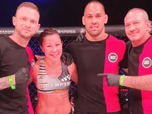 Gympie's 'Angerfist' ready for the fight of her life against Cyborg
