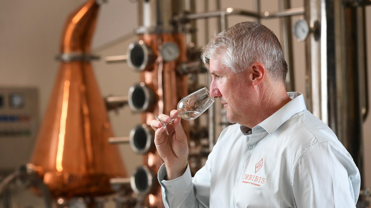 Jason Hannay has started his own gin distillery called Imbibus and will be launching on Friday.