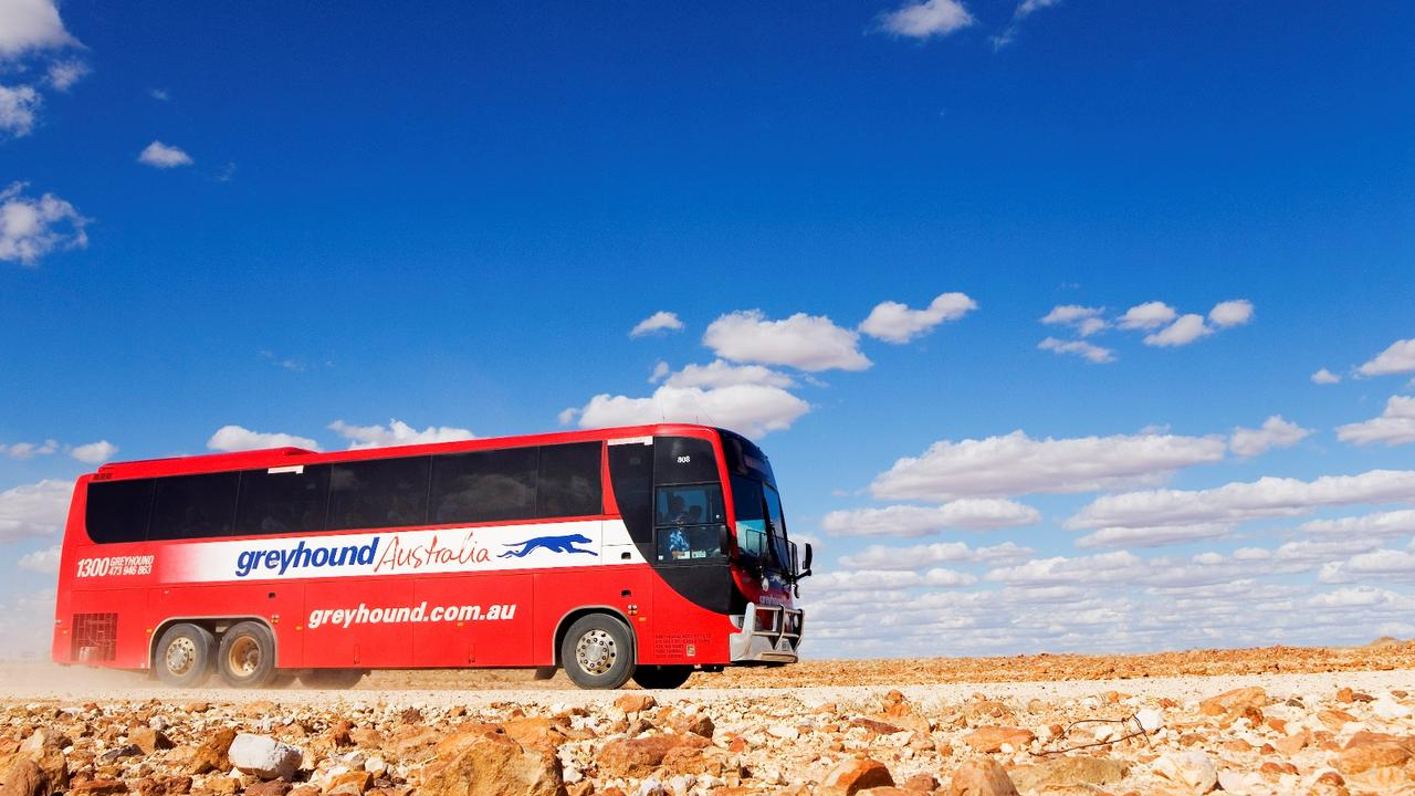Greyhound Australia runs buses to Katherine and other destinations throughout the NT.