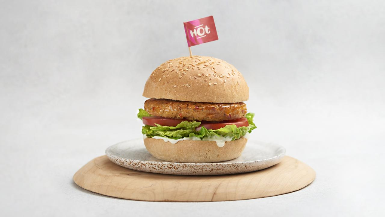 Nando's launches new vegan chicken burger. Picture: Supplied/Nando's