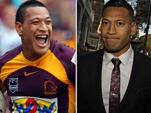 Israel Folau finalises return to rugby league
