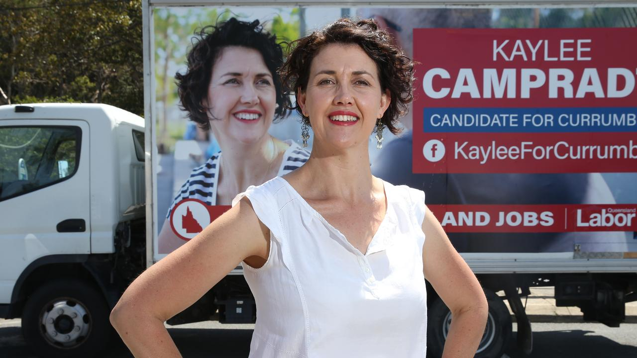 Labor candidate for Currumbin, Kaylee Campradt. Picture: Glenn Hampson