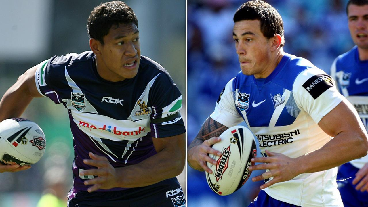 Israel Folau and Sonny Bill Williams.