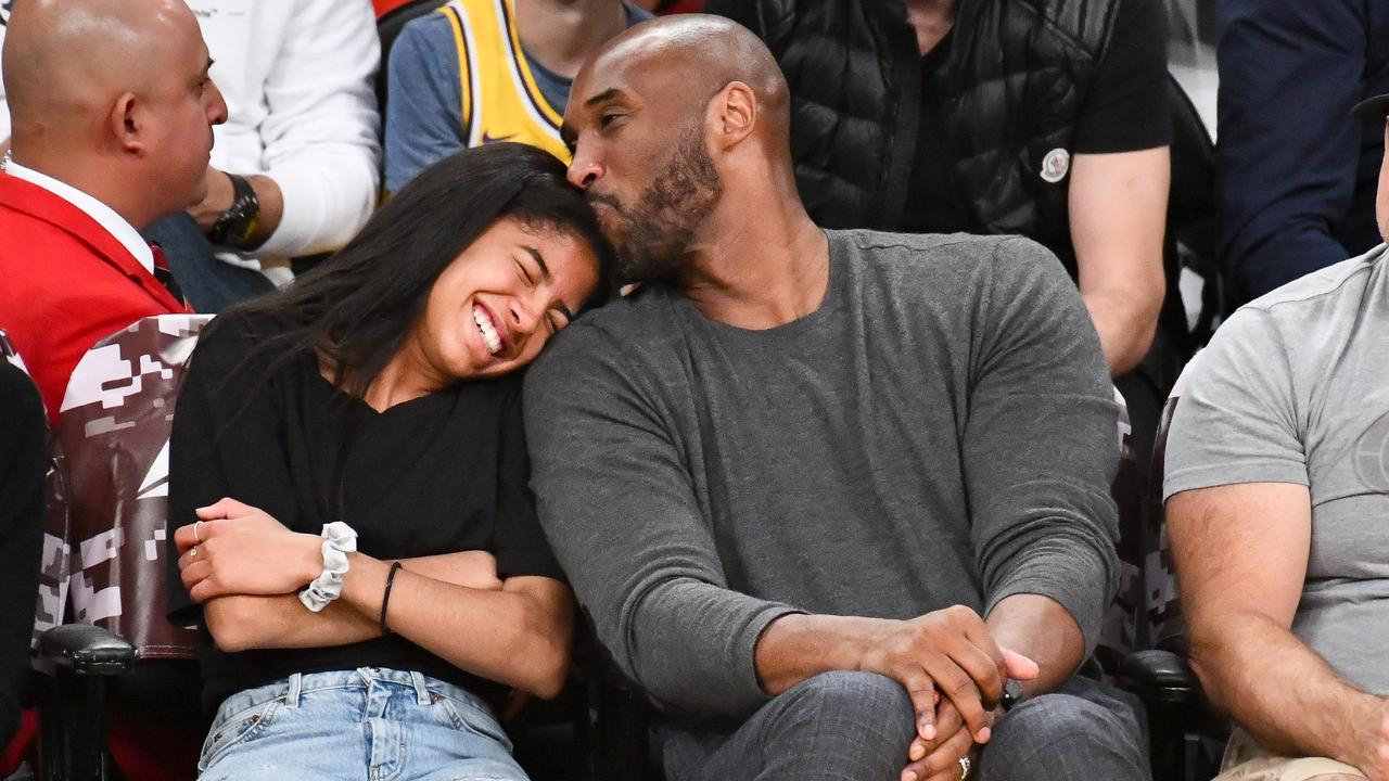 Kobe Bryant and his daughter Gianna both died in the crash. Picture: Allen Berezovsky/Getty Images.