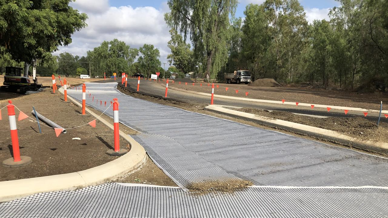 BETTER ACCESS: Works are under way to bitumen seal the Emerald Botanic Gardens.
