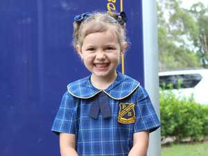 GALLERY: Kindy kids on their first day of school