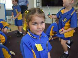 Gallery: Miles prep student's first school week