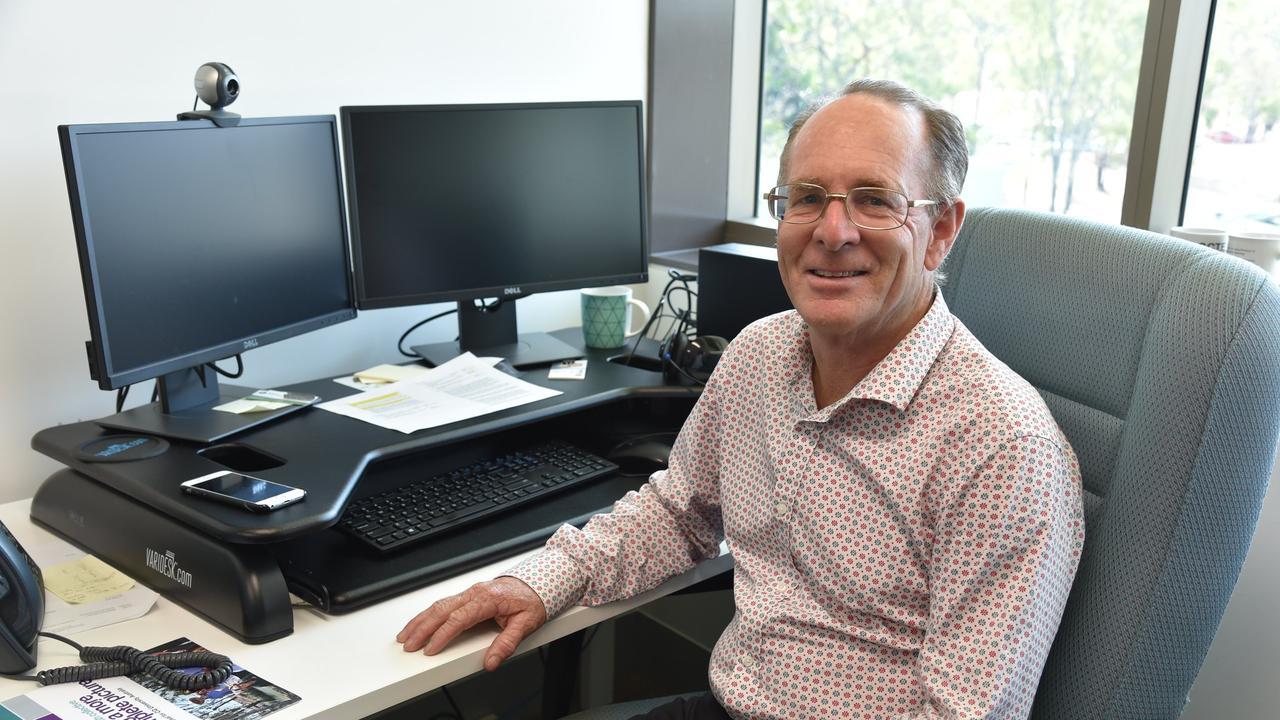 CQUniversity Resource Economist, Professor John Rolfe. Picture: Peter Lawrence