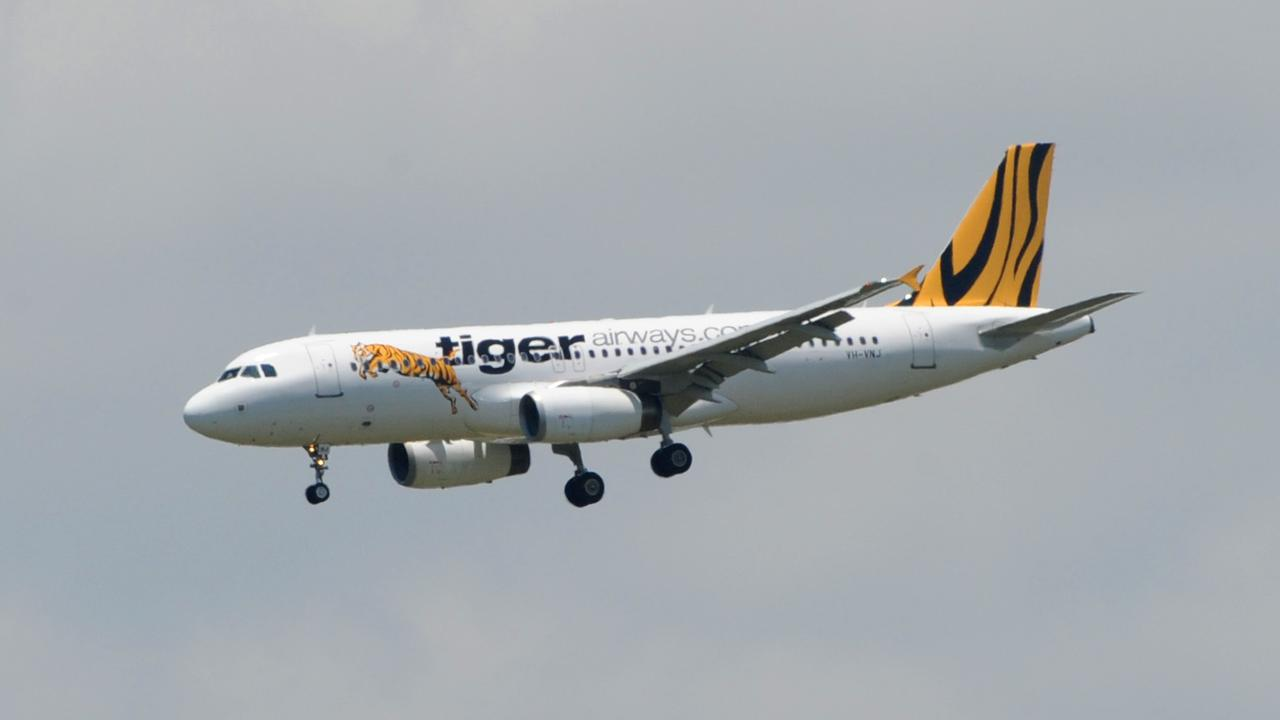 A man diagnosed with Coronavirus travelled from Melbourne on a Tiger Air flight. Picture: Richard Walker