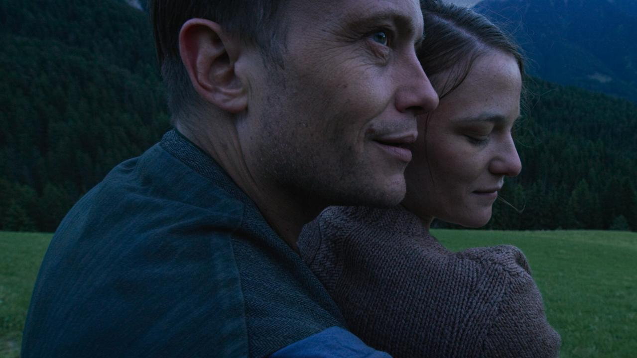August Diehl and Valerie Pachner in Terrence Malick's A Hidden Life
