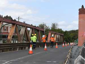 Bridge to be closed this weekend