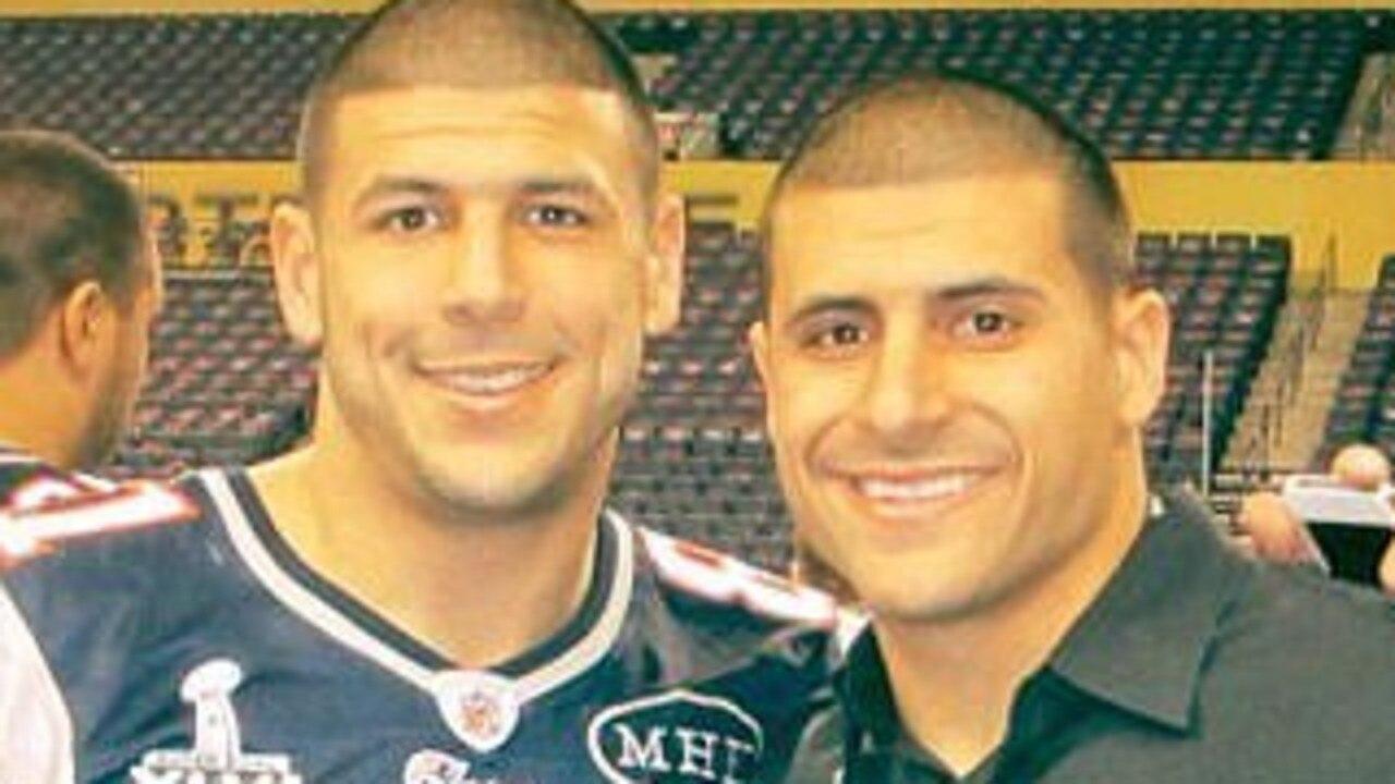 Supplied  Jonathan Hernandez says NFL star brother Aaron was gay
