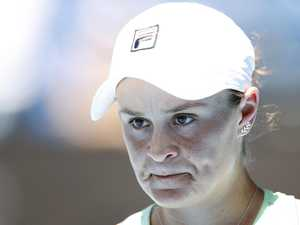 Barty dream over in Aus Open shock