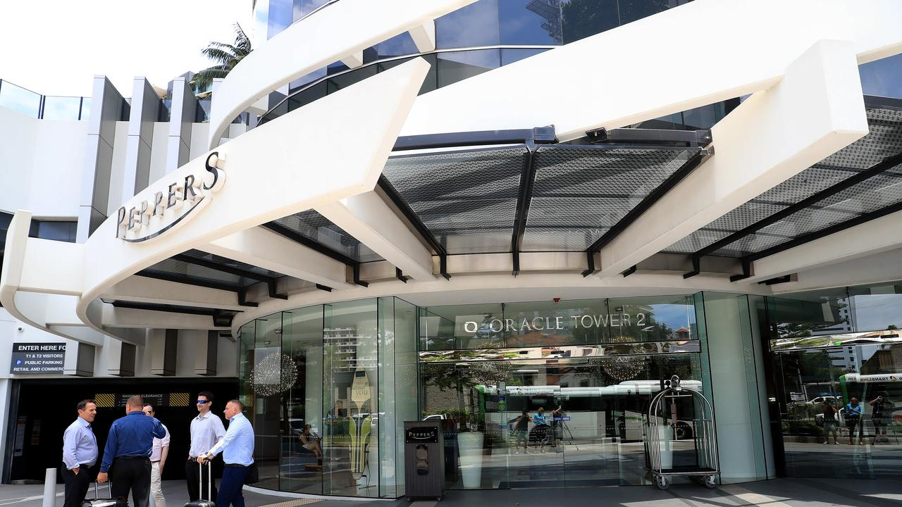 Queensland health officials have held crisis talks with residents at the ground zero of the state's coronavirus outbreak after they expressed anger at being kept in the dark.