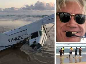 Duo kicked out plane's doors before it plunged into ocean