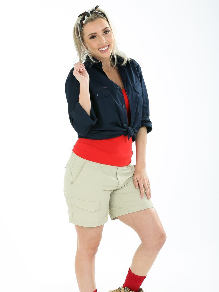 Erin pre-I'm a Celeb. Picture: Channel 10.
