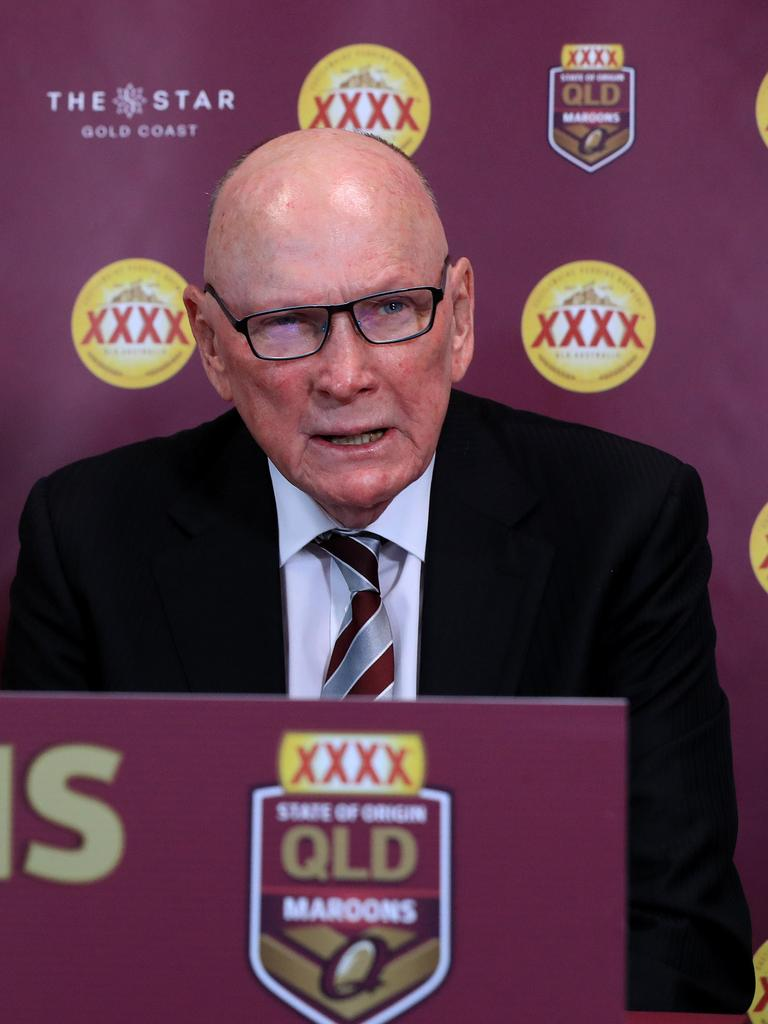 QRL Chairman Bruce Hatcher. Picture: Adam Head