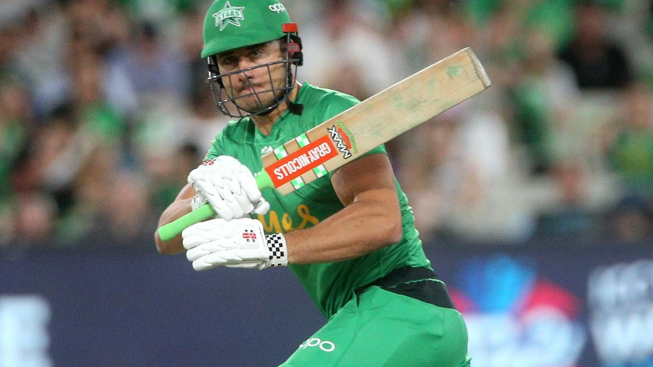 Melbourne Stars' Marcus Stoinis top scored across the regular season, smashing 607 runs, the only man to go past 500.