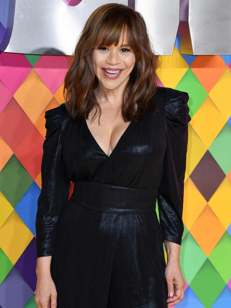 Rosie Perez attends the Birds of Prey: And the Fantabulous Emancipation Of One Harley Quinn World Premiere at the BFI IMAX in London, England. Photo: Gareth Cattermole/Getty Images.