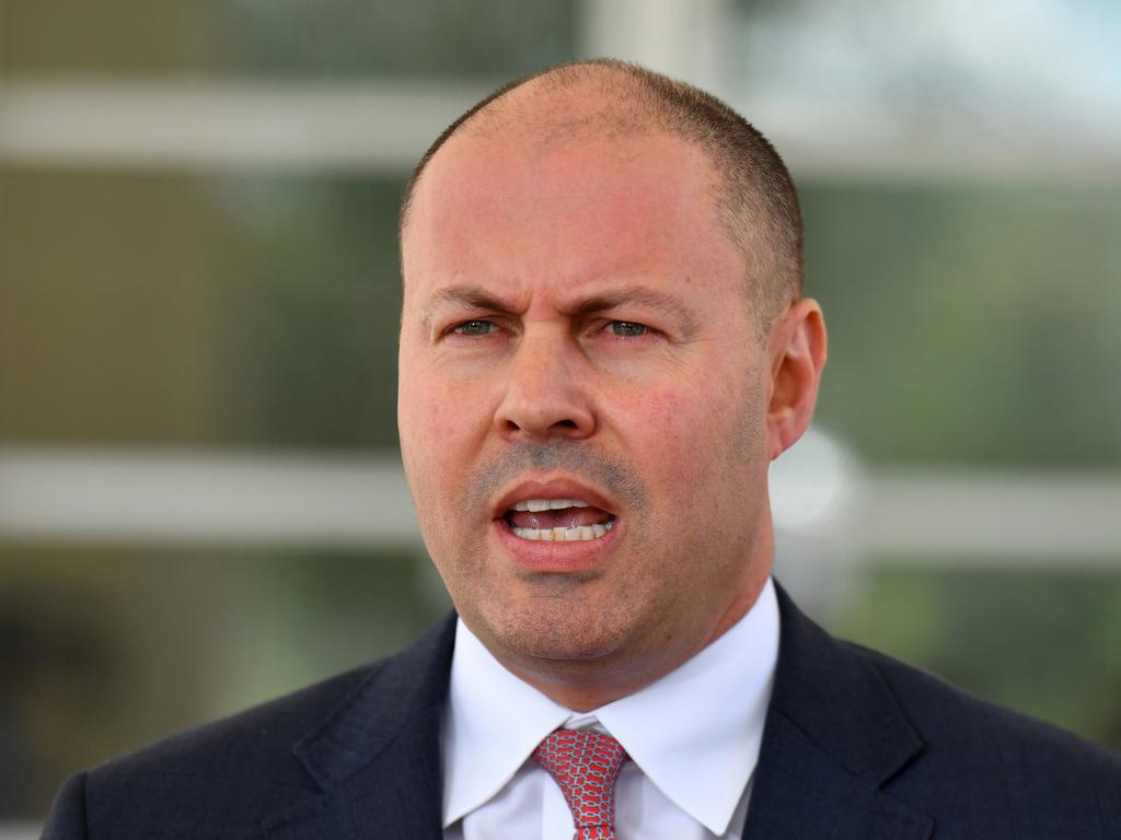 Treasurer Josh Frydenberg said the clean-up cost will run into the hundreds of millions of dollars. Picture: AAP