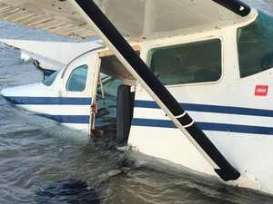 Investigation begins after plane goes down off Fraser Island