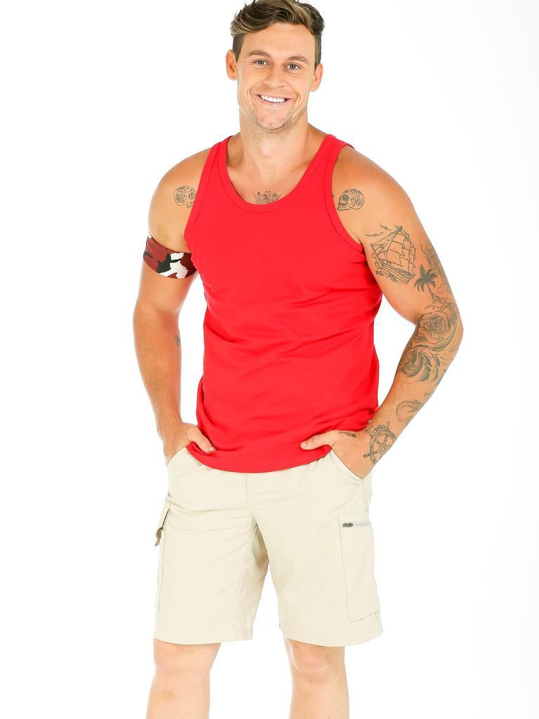Pre-jungle Ryan Gallagher. Picture: Channel 10.