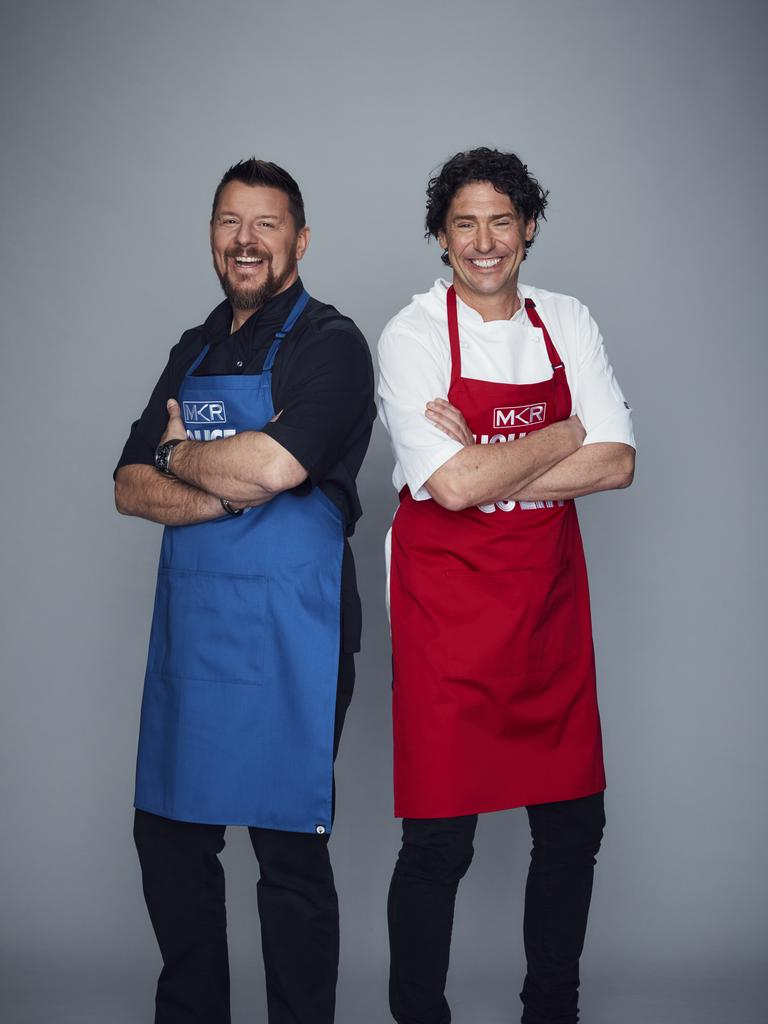 My Kitchen Rules judges Manu Feildel and Colin Fassnidge are facing off in the show's new rivals-themed season.