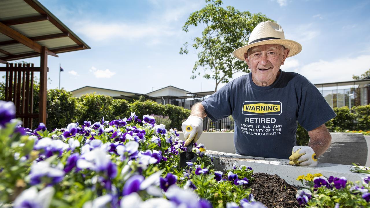 Get into the garden for a long life.