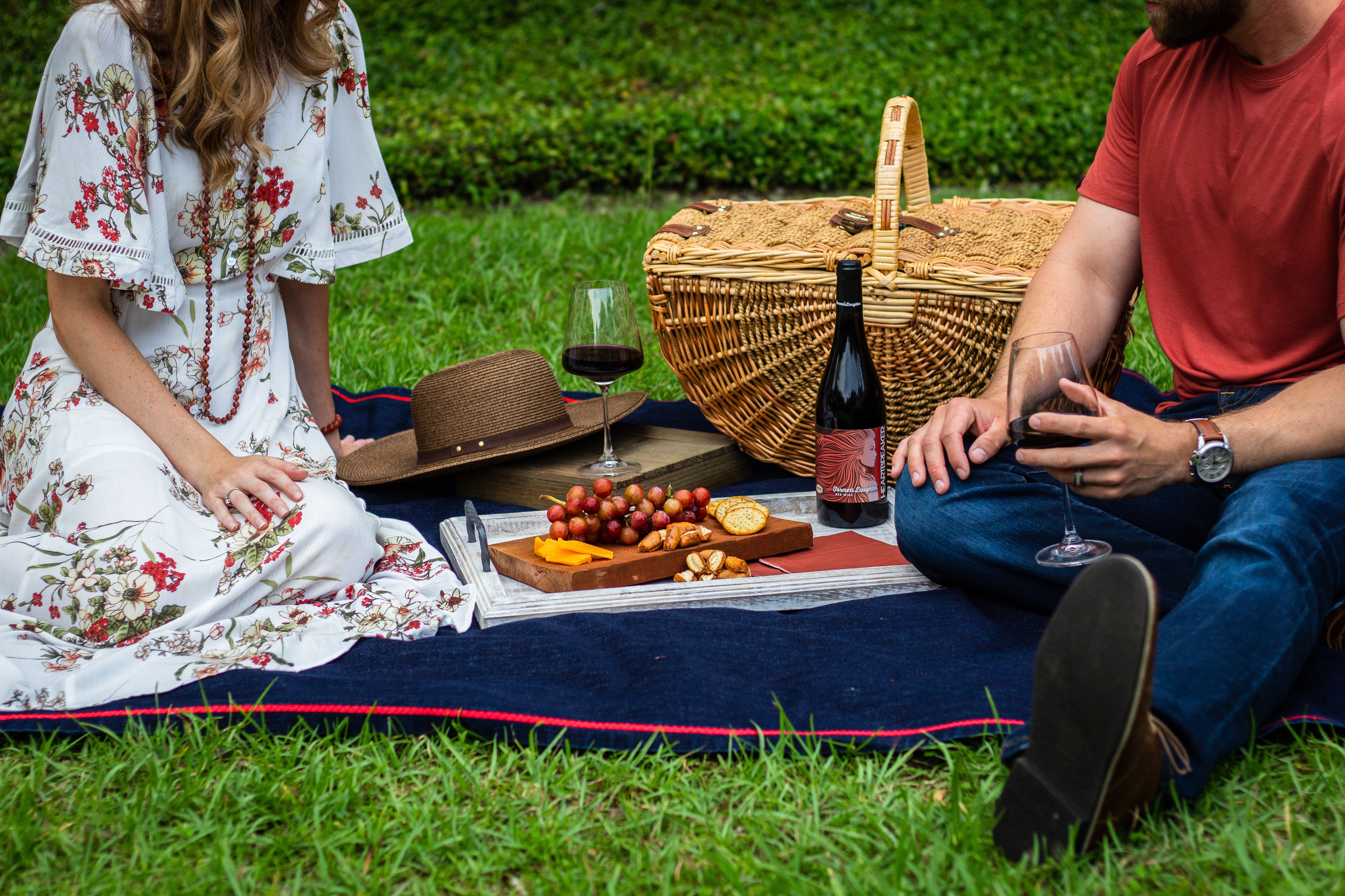 A picnic is a beautiful way to treat your Valentine!