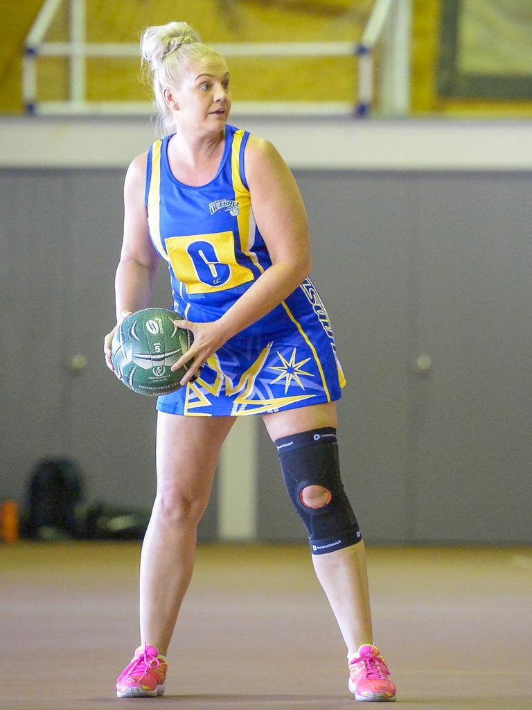 Gladstone netball player Melanie Dyball