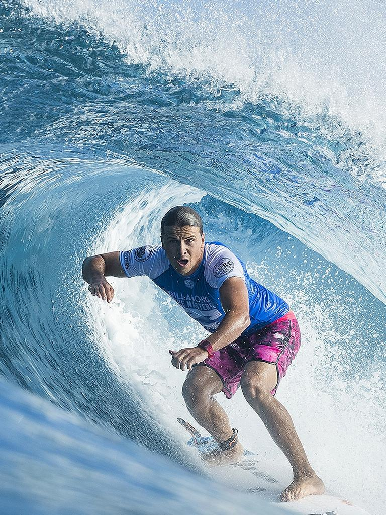 Coolum Beach surfer Julian Wilson. Photo: Damien Poullenot