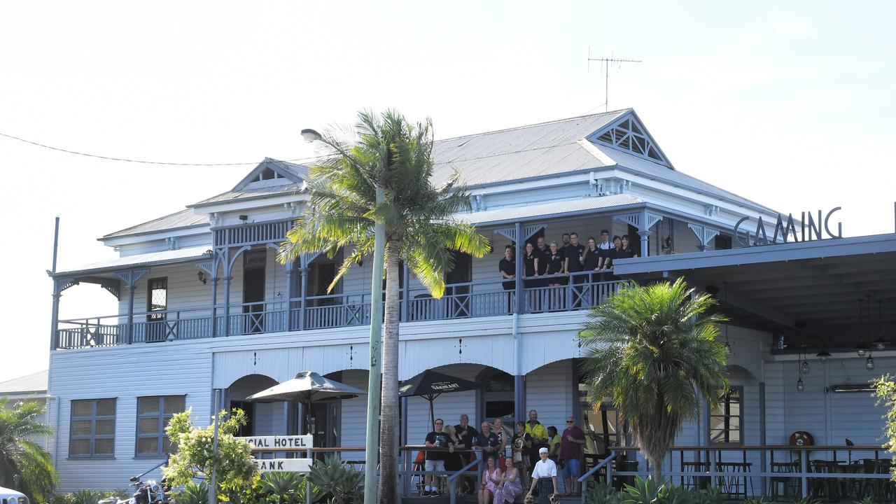 The Commercial Hotel in Redbank.