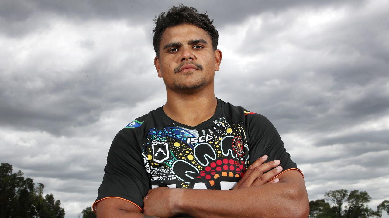 Latrell Mitchell could play for the indigenous All Stars in the forwards.
